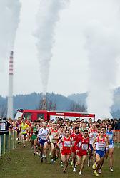 Under 23 Men's race during the 18th SPAR European Cross Country Championships Velenje 2011, on December 11, 2011 in Stadium Ob jezeru, Velenje, Slovenia. (Photo By Vid Ponikvar / Sportida.com)