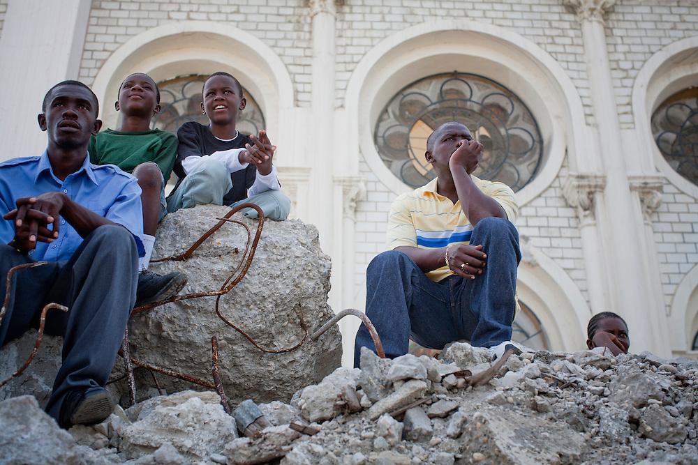in Port-au-Prince, Haiti.