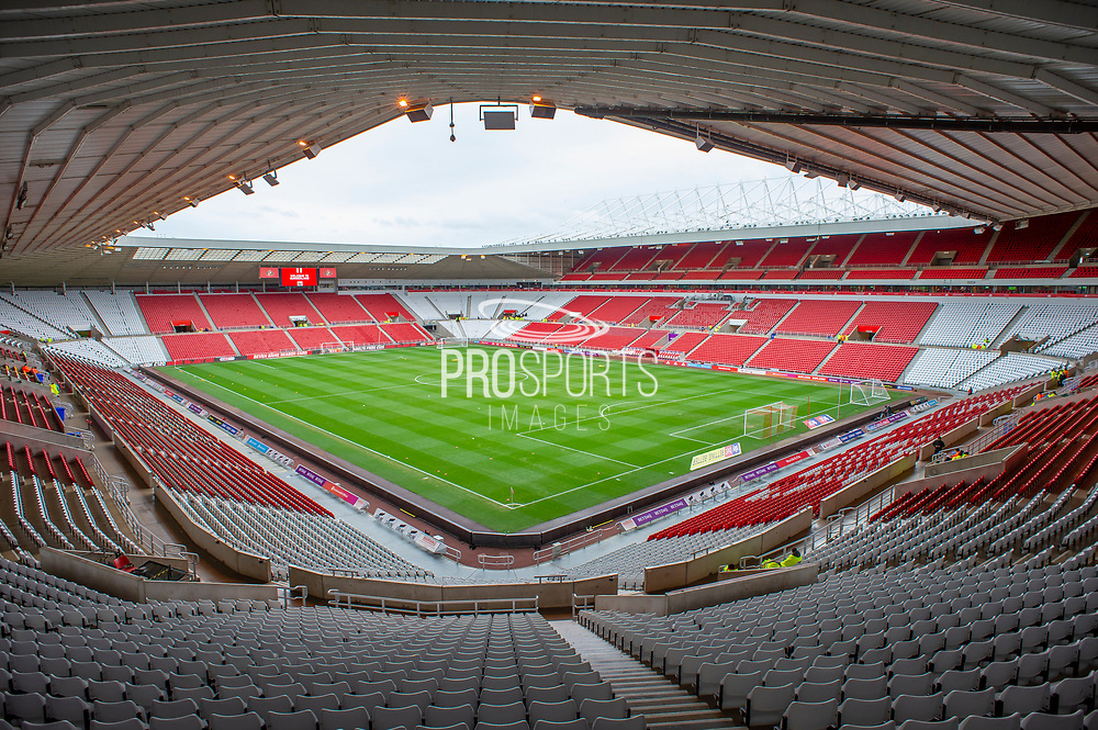 General view before the EFL Sky Bet League 1 match between Sunderland and Portsmouth at the Stadium Of Light, Sunderland, England on 17 August 2019.