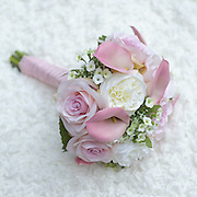 I love to make close-ups of subjects like a wedding bouquet.