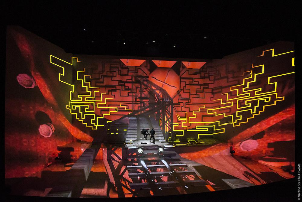 Les mystères du Kube - Futuroscope - Une création MU Events - 2015