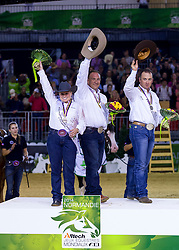 Mandy Mccutcheon, Shawn Flarida, Andrea Fappani - Individual Final Comptetition - Alltech FEI World Equestrian Games™ 2014 - Normandy, France.<br /> © Hippo Foto Team - Leanjo De Koster<br /> 30-08-14