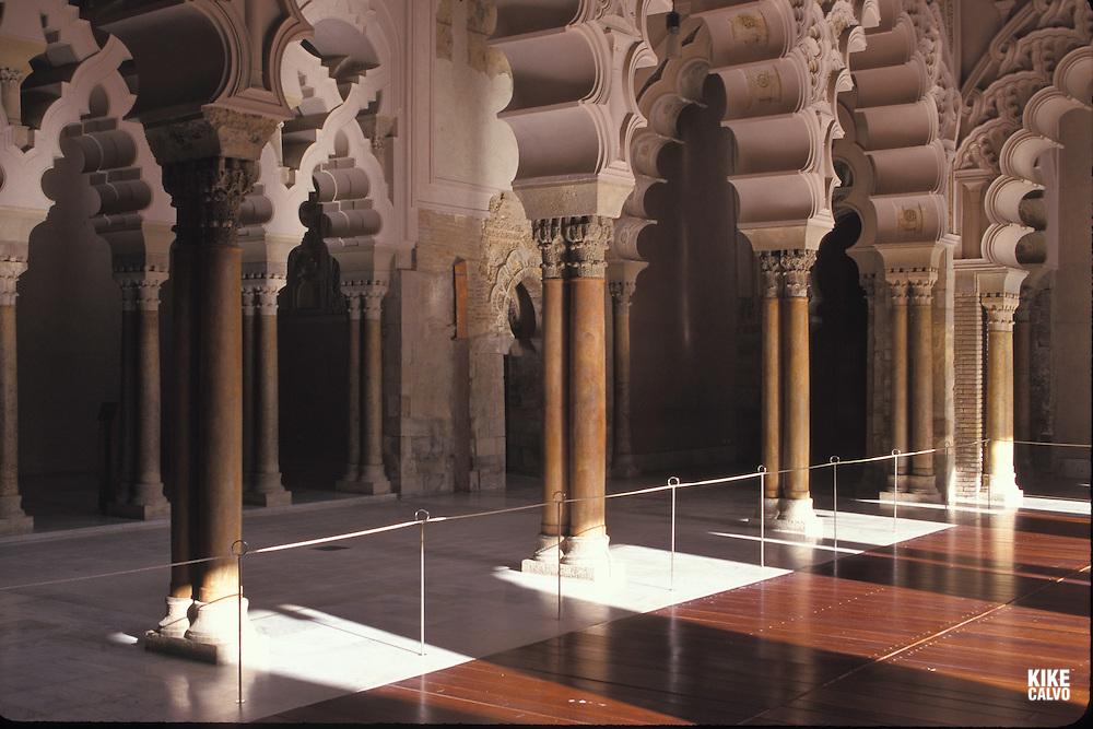 Courtyard of the Palacio Aljaferia