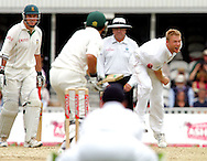 Photo © ANDREW FOSKER / SPORTZPICS 2008 - Andrew Flintoff bowls to his first victim Neil McKenzie - England v South Africa - 07/08/08 - Fourth nPower Test Match -  Day 1 - The Brit Oval - London - UK - All rights reserved