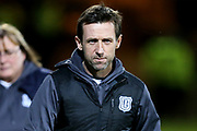 Dundee manager Neil McCann during the Ladbrokes Scottish Premiership match between Dundee and Hibernian at Dens Park, Dundee, Scotland on 24 January 2018. Photo by Craig Doyle.