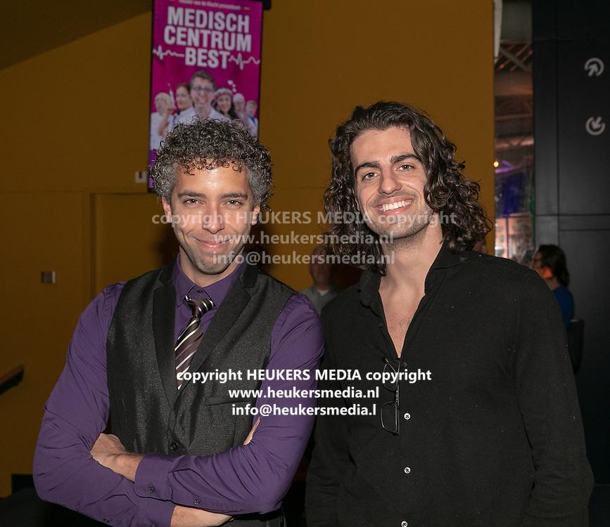 2019, Februari 18. Rijswijkse Schouwburg, Rijswijk. Premiere van Medisch Centrum Best. Op de foto: Michael Konings