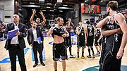 DESCRIZIONE : Campionato 2014/15 Dinamo Banco di Sardegna Sassari - Dolomiti Energia Aquila Trento Playoff Quarti di Finale Gara4<br /> GIOCATORE : Aquila Trento Team<br /> CATEGORIA : Ritratto Delusione Postgame<br /> SQUADRA : Dolomiti Energia Aquila Trento<br /> EVENTO : LegaBasket Serie A Beko 2014/2015 Playoff Quarti di Finale Gara4<br /> GARA : Dinamo Banco di Sardegna Sassari - Dolomiti Energia Aquila Trento Gara4<br /> DATA : 24/05/2015<br /> SPORT : Pallacanestro <br /> AUTORE : Agenzia Ciamillo-Castoria/L.Canu