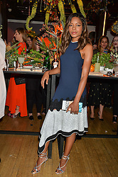 NAOMIE HARRIS at the Cointreau Creative Crew Award at Liberty, Great Marlborough Street, London on 24th May 2016.
