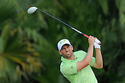 Sergio Garcia during the third round of the World Golf Championship Cadillac Championship on the TPC Blue Monster Course at Doral Golf Resort And Spa on March 10, 2012 in Doral, Fla. ..©2012 Scott A. Miller.