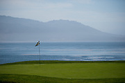 August 14-16, 2012 - Pebble Beach / Monterey Car Week. 18th green at Pebble Beach