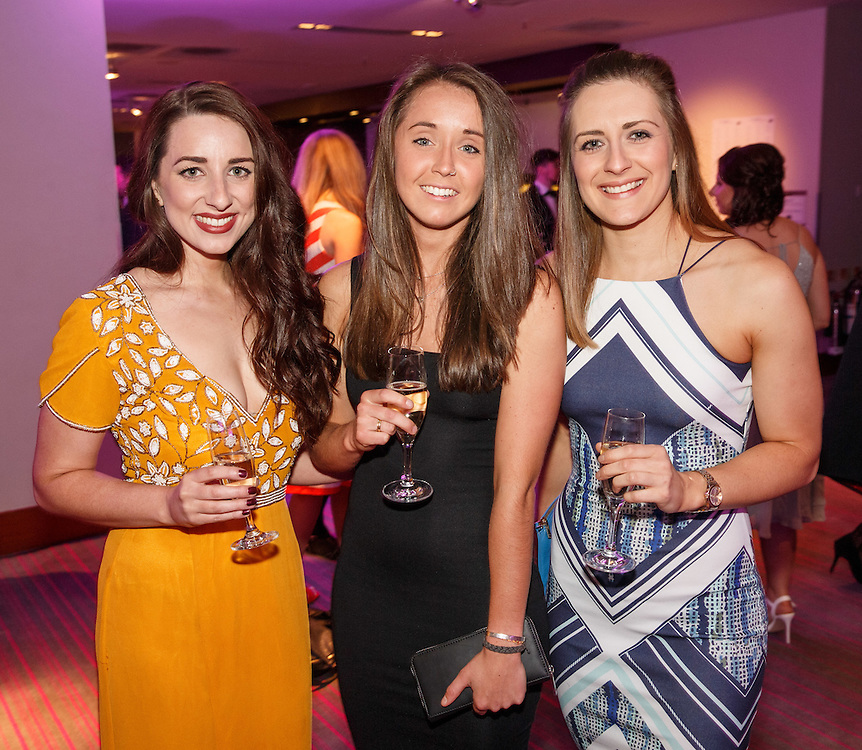BNO Maggie's Spring Ball at Radisson Hotel Glasgow. L to R :  Alexandra Fitzpatrick, Rosie Redding and Bex Townsend. Picture Robert Perry for The Herald and  Evening Times 23rd April 2016<br /> <br /> Must credit photo to Robert Perry<br /> <br /> FEE PAYABLE FOR REPRO USE<br /> FEE PAYABLE FOR ALL INTERNET USE<br /> www.robertperry.co.uk<br /> NB -This image is not to be distributed without the prior consent of the copyright holder.<br /> in using this image you agree to abide by terms and conditions as stated in this caption.<br /> All monies payable to Robert Perry<br /> <br /> (PLEASE DO NOT REMOVE THIS CAPTION)<br /> This image is intended for Editorial use (e.g. news). Any commercial or promotional use requires additional clearance. <br /> Copyright 2016 All rights protected.<br /> first use only<br /> contact details<br /> Robert Perry     <br /> 07702 631 477<br /> robertperryphotos@gmail.com<br />         <br /> Robert Perry reserves the right to pursue unauthorised use of this image . If you violate my intellectual property you may be liable for  damages, loss of income, and profits you derive from the use of this image.