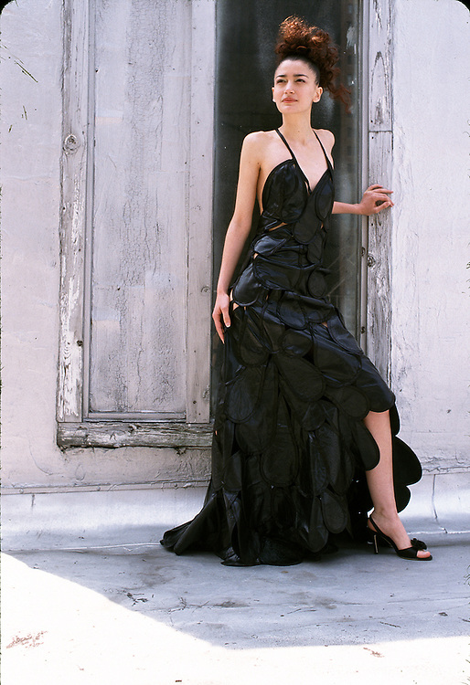 Fashion shoot, New York designers