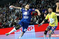 Borut Mackovsek - 15.03.2015 - Montpellier / Kielce - 1/8Finale aller Ligue des Champions<br /> Photo : Andre Delon / Icon Sport