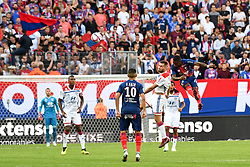September 15, 2018 - Caen, France - 12 Claudio BEAUVUE (caen) - 29 Lucas TOUSART  (Credit Image: © Panoramic via ZUMA Press)
