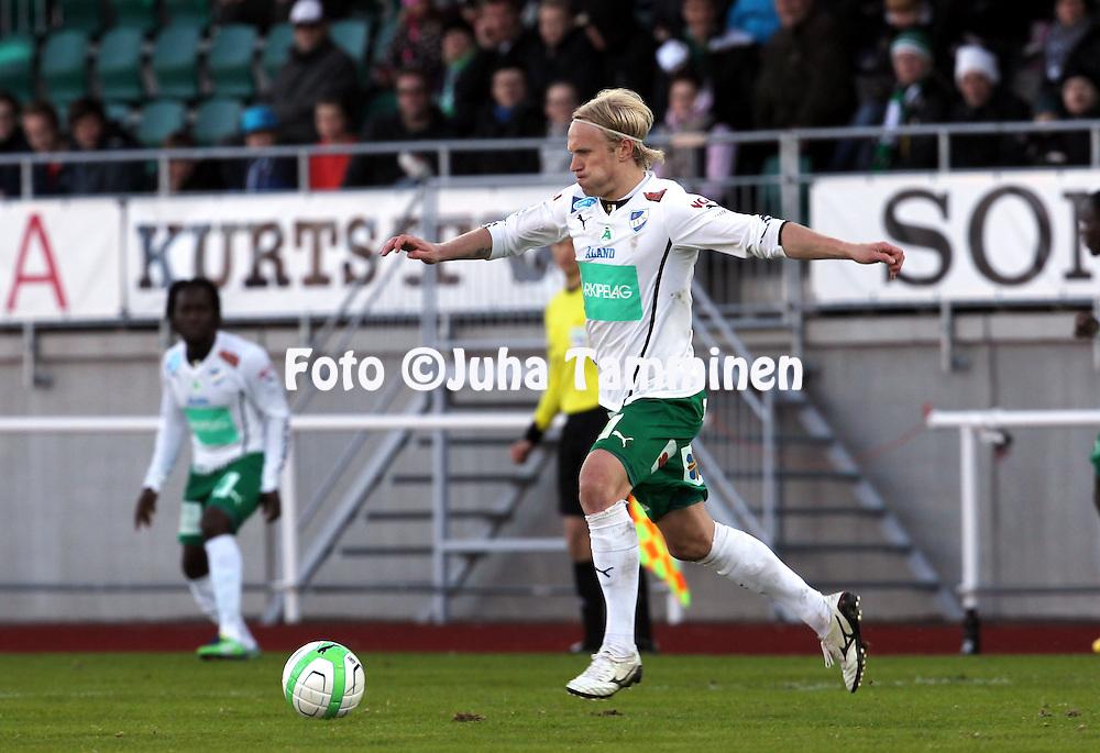 5.5..2013, Wiklöf Holding Arena, Mariehamn..Veikkausliiga 2013..IFK Mariehamn - FC Inter Turku..Pekka Lagerblom - IFK Mariehamn