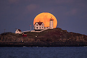 I won't be forgetting tonights adventure anytime soon. Here I was, surrounded by some of my favorite photographers, capturing a stunning moonrise behind one of the most photogenic lighthouses in the world. It was so incredible to witness, and our planning paid off perfectly. We were in the exact right spot to capture it coming up behind the lighthouse. Nubble gives and gives.