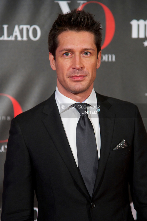 Jaime Cantizano attends 'Yo Dona' Magazine's Mask Party at Casino on 18 February, 2013 in Madrid