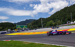 July 8, 2017 - Spielberg, Austria - Carlos Sainz of Spain and Toro Rosso driver during the qualification session on Austrian F1 GP at Red Bull Ring  on July 08, 2017 in Speilberg, Austria. (Credit Image: © Robert Szaniszlo/NurPhoto via ZUMA Press)