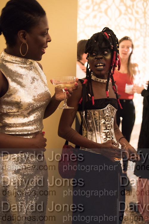 NANA DABANKA, JOJO ABOT, Ghana party, Venice, 8 May 2019