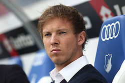 16.04.2016, Wirsol Rhein Neckar Arena, Sinsheim, GER, 1. FBL, TSG 1899 Hoffenheim vs Hertha BSC, 30. Runde, im Bild Julian Nagelsmann (Trainer / TSG 1899 Hoffenheim) // during the German Bundesliga 30th round match between TSG 1899 Hoffenheim and Hertha BSC at the Wirsol Rhein Neckar Arena in Sinsheim, Germany on 2016/04/16. EXPA Pictures © 2016, PhotoCredit: EXPA/ Eibner-Pressefoto/ Neis<br /> <br /> *****ATTENTION - OUT of GER*****