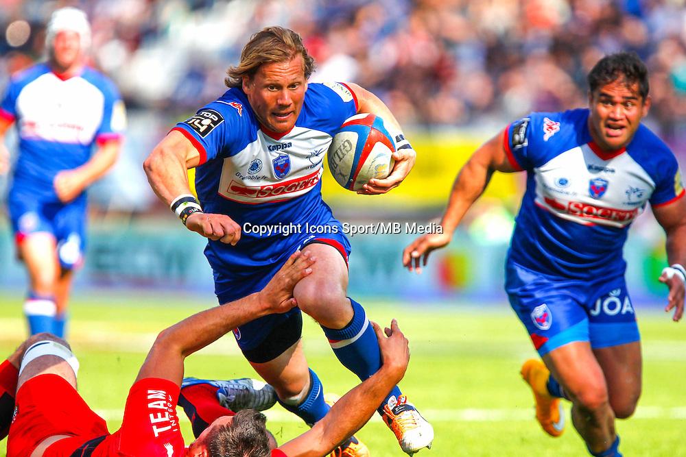 Charl MCLEOD  - 11.04.2015 - Grenoble / Toulon  - 22eme journee de Top 14 <br />Photo :  Jacques Robert / Icon Sport