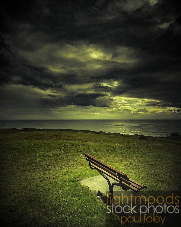 Bench, Black Head Reserve, Gerroa, NSW, Australia