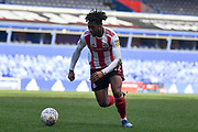 Sunderland forward (on loan from Bristol City) Antoine Semenyo (42) sprints forward with the ball during the EFL Sky Bet League 1 match between Coventry City and Sunderland at the Trillion Trophy Stadium, Birmingham, England on 1 March 2020.