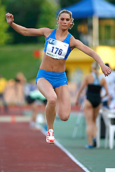 Athlete Snezana  Vukmirovic - Rodic at 2nd Memorial Meeting of Matic Sustersic, on June 3, 2007, Ljubljana, Slovenia.   (Photo by Vid Ponikvar / Sportal Images).