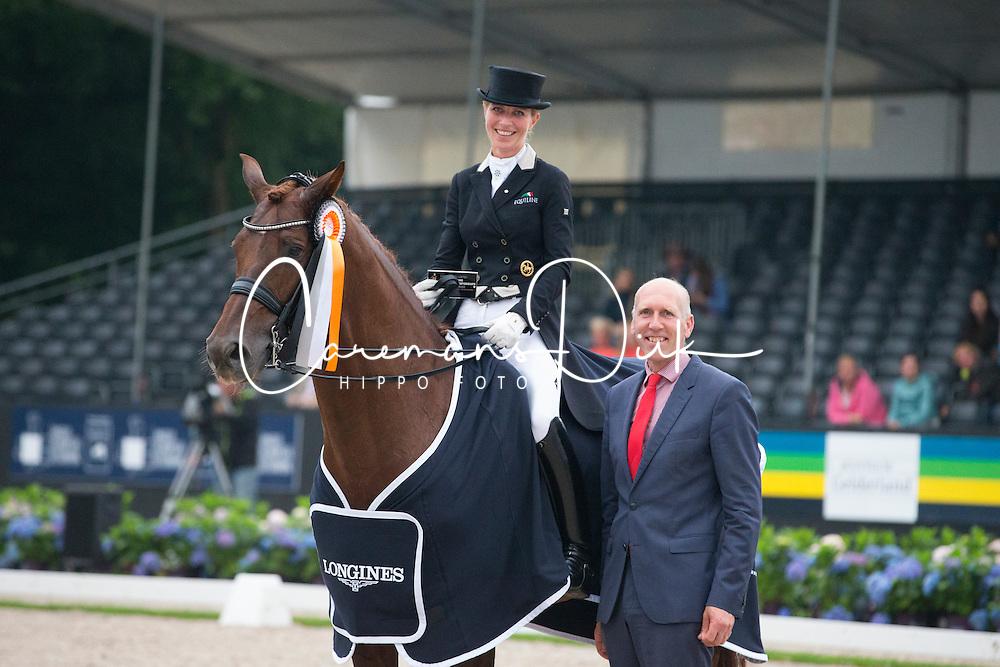 Freese Isabel, NOR, Vitalis<br /> World Championship Young Dressage Horses <br /> Ermelo 2016<br /> © Hippo Foto - Leanjo De Koster<br /> 30/07/16