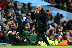 Manchester City manager Pep Guardiola looks dejected - Mandatory by-line: Matt McNulty/JMP - 08/03/2017 - FOOTBALL - Etihad Stadium - Manchester, England - Manchester City v Stoke City - Premier League
