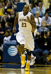 February 27, 2010; Berkeley, CA, USA;  California Golden Bears guard Patrick Christopher (23) during the second half against the Arizona State Sun Devils at Haas Pavilion.  California defeated Arizona State 62-46.