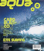 Aqua magazine (Peru) cover