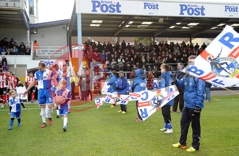 - Photo mandatory by-line: Neil Brookman/JMP - Mobile: 07966 386802 - 21/02/2015 - SPORT - Football - Bristol - Memorial Stadium - Bristol Rovers v Altrincham - Vanarama Football Conference