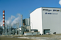 Joffre gas processsing plant<br /> ATCO electrical generating plant