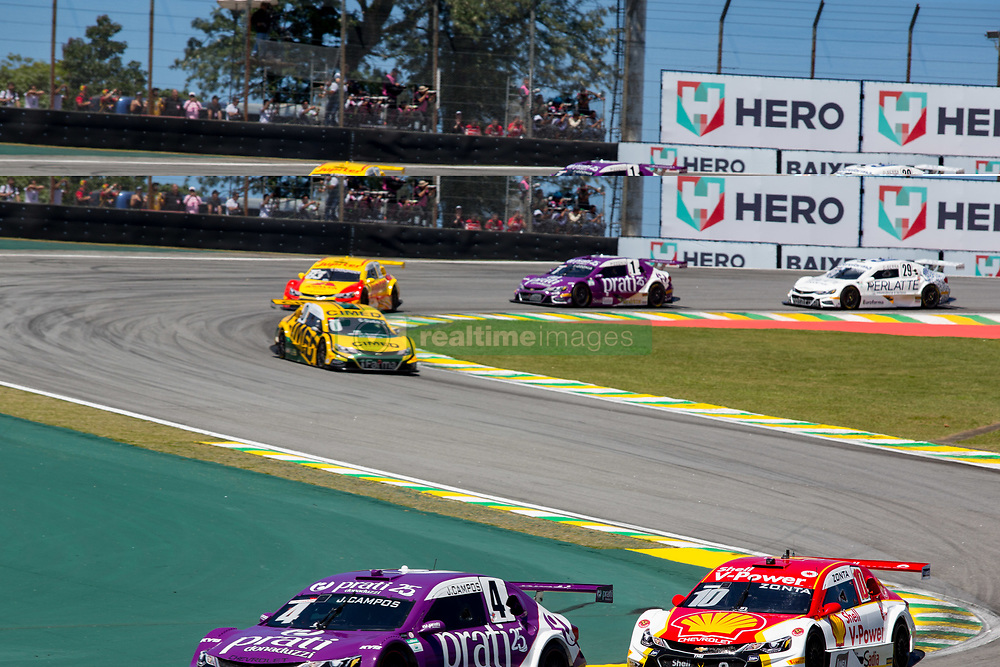 December 9, 2018 - Sao Paulo, Sao Paulo, Brazil - Nov, 2018 - #4 JULIO CAMPOS of Prati-Donaduzzi during the final stage of the 2018 championship of the Brazilian Stock Car, at Interlagos circuit, in Sao Paulo, Brazil. (Credit Image: © Paulo Lopes via ZUMA Wire) (Credit Image: © Paulo Lopes/ZUMA Wire)
