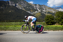 Alice Barnes (GBR) at UCI Road World Championships 2018 - Elite Women's ITT, a 27.7 km individual time trial in Innsbruck, Austria on September 25, 2018. Photo by Jim Fryer/velofocus.com