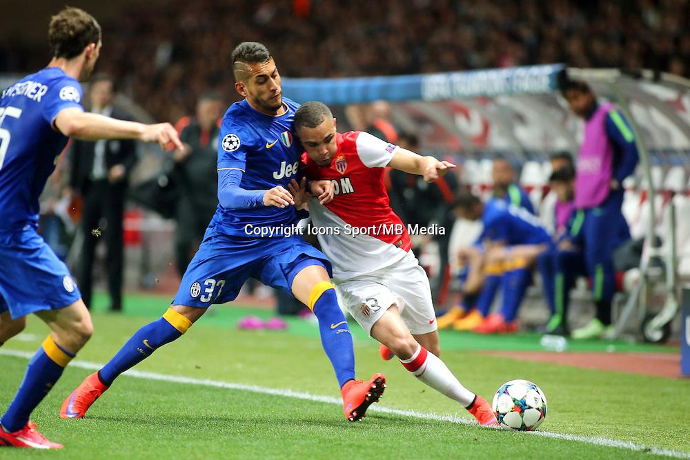 Roberto PEREYRA / Layvin KURZAWA - 22.04.2015 - Monaco / Juventus Turin - 1/4Finale retour Champions League<br /> Photo : Serge Haouzi / Icon Sport