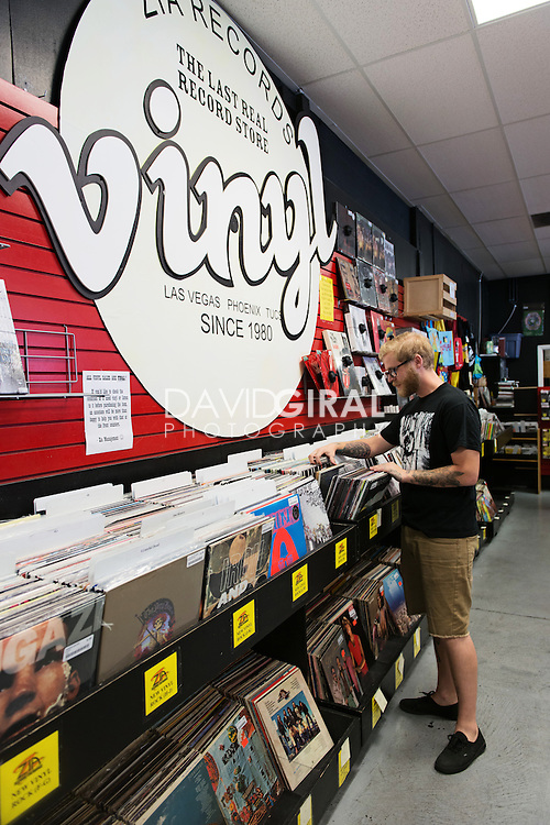 Zia Records Store, Las Vegas, Nevada, USA