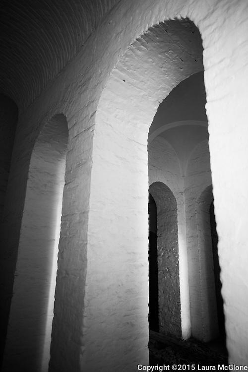 Arches in Black and White Architecture Morocco