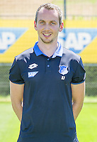 German Bundesliga - Season 2016/17 - Photocall 1899 Hoffenheim on 19 July 2016 in Zuzenhausen, Germany: Physiotherapist Soeren Johannsen. Photo: APF | usage worldwide