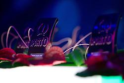 Trophies during Sporto  2010 Gala Dinner and Awards ceremony at Sports marketing and sponsorship conference, on November 29, 2010 in Hotel Slovenija, Portoroz/Portorose, Slovenia. (Photo By Vid Ponikvar / Sportida.com)