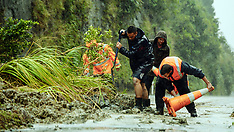 Napier-Slips and flooding closes SH5, Napier-Taupo