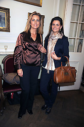 Left to right, writer KASIA PISAREK and her daughter CLAUDIA PISAREK at a Literary Evening to celebrate the publication of Masters & Commanders by Andrew Roberts held at The Polish Institute and Sikorski Museum, 20 Princes Gate, London SW7 on 1st October 2008.