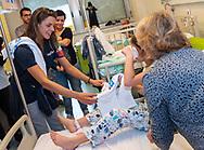 Arianna Garibotti<br /> Visita Sette Rosa Ospedale Policlinico Universitario Agostino Gemelli<br /> Photo Pasquale Mesiano/ Deepbluemedia /Insidefoto