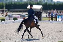 Fassaert Claudia (BEL) - Donnerfee<br /> Belgisch Kampioenschap Dressuur - Hulsterlo/ Meerdonk 2013<br /> © Dirk Caremans