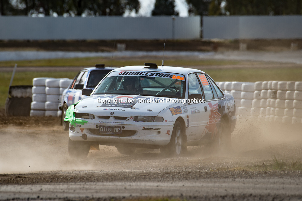 Brett Ross - Holden Commodore - Rallycross Australia - Winton Raceway - 16th July 2017