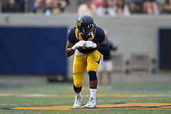 BERKELEY, CA - SEPTEMBER 12:  Wide receiver Darius Powe #10 of the California Golden Bears lines up for a play against the San Diego State Aztecs during the third quarter at California Memorial Stadium on September 12, 2015 in Berkeley, California. The California Golden Bears defeated the San Diego State Aztecs 35-7. (Photo by Jason O. Watson/Getty Images) *** Local Caption *** Darius Powe