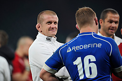 England forwards coach Graham Rowntree looks on after the match - Photo mandatory by-line: Patrick Khachfe/JMP - Mobile: 07966 386802 22/11/2014 - SPORT - RUGBY UNION - London - Twickenham Stadium - England v Samoa - QBE Internationals