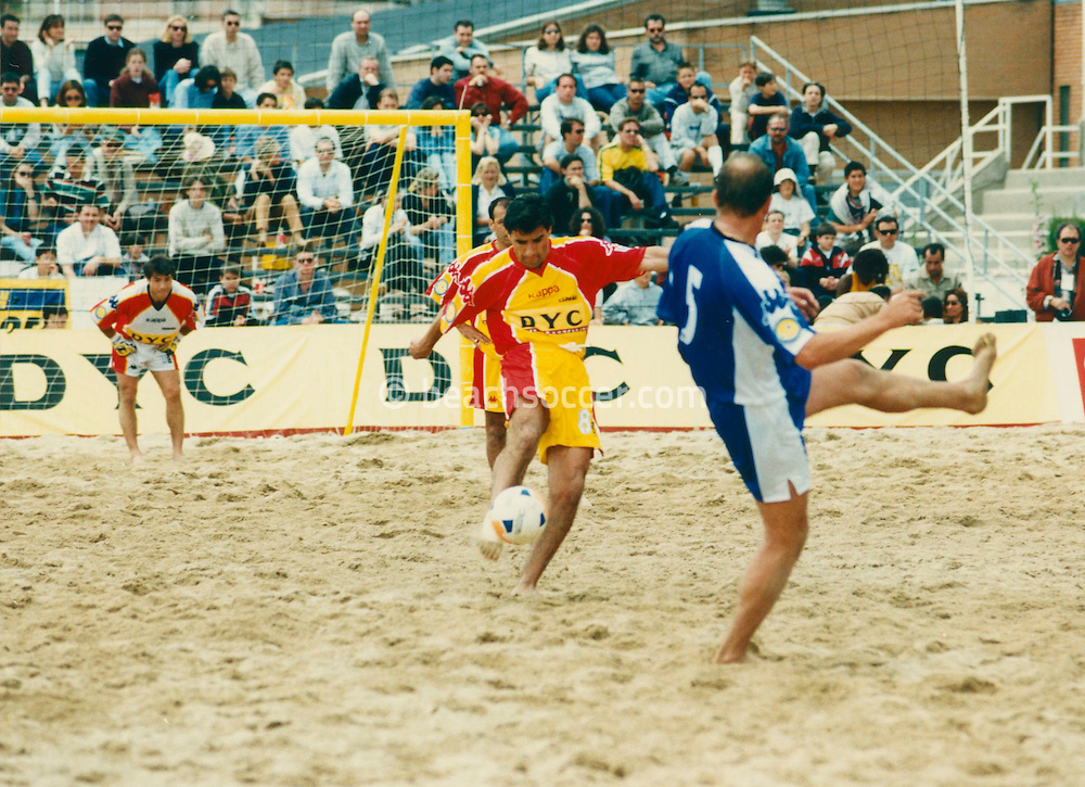 Torneo DYC Fútbol Playa Madrid 98
