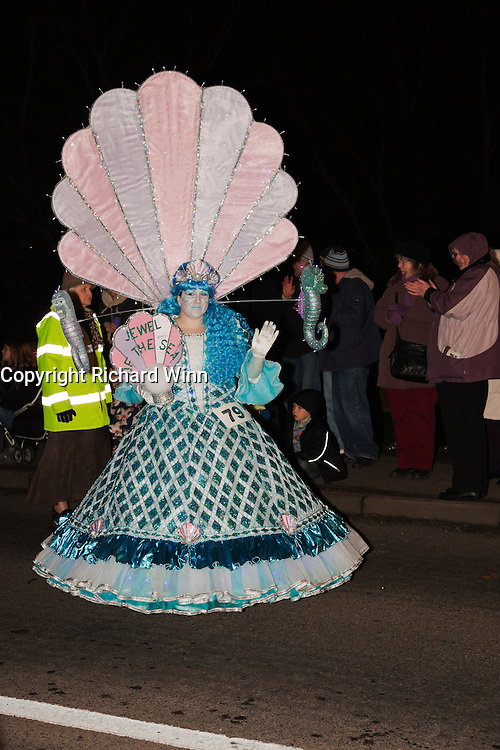 Jewel of the Sea by Jodie-Bea Mitchell (JB CC) at Glastonbury and Chilkwell Guy Fawkes Carnival, 2010.